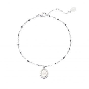 Armband Live Life to the Fullest Zilver