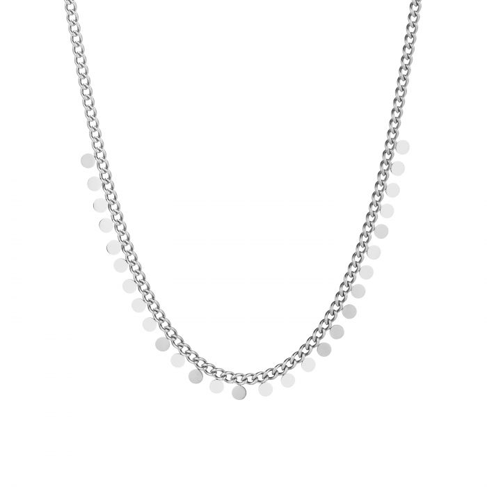 Ketting Sprankle Coins Zilver